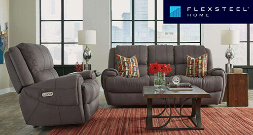 Come by Neve's Floors To Go and Furniture today to check out our full line of Flexsteel furniture!