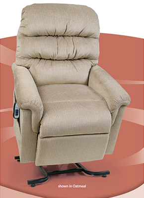 542-JPT UltraComfort Montage Collection Lift Chairs available at Neve's Floors To Go in Antigo