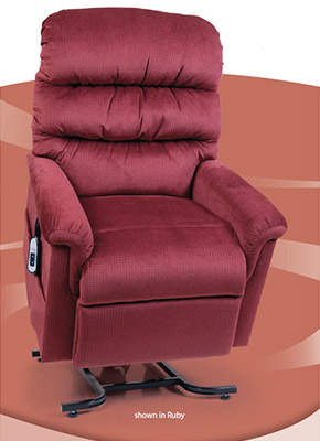 542-M UltraComfort Montage Collection Lift Chairs available at Neve's Floors To Go in Antigo