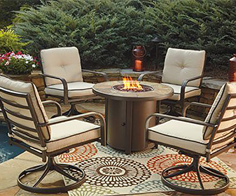 Outdoor™ by Ashley - firepit table