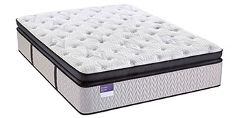 BRITANNIA SILVER PILLOWTOP PLUSH Cushioning gel foam, variable-stage encased coils, and added support where you need it most, for exceptional comfort and full-body support.