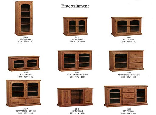 Entertainment Centers available at Neve's Floors To Go in Antigo.