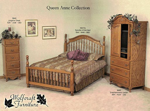Queen Anne Collection available at Neve's Floors To Go in Antigo.