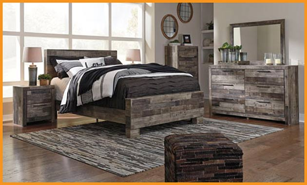 4 PC Bedroom Set $699 this month at Neve's Floors To Go Furniture & Mattress Gallery