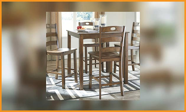 5 PC Dining Set $329 this month at Neve's Floors To Go Furniture & Mattress Gallery