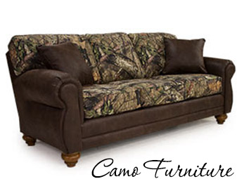 Neve's Floors To Go Furniture & Mattress Gallery has a massive selection of camo furniture.  Come by today!