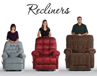 At Neve's Floors To Go Furniture & Mattress Gallery we know comfort.  Come check out our line of recliners in Antigo today!