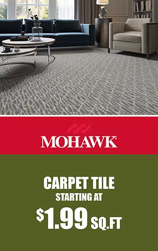 Mohawk – Carpet tile starting at $1.99 sq.ft.