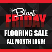 Visit Neve's Floors to go in Antigo, WI during our Black Friday Flooring Sale for Huge Savings