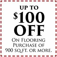Fall Home Makeover Sale going on now at Neve's Floors To Go & Mattress Gallery! Receive up to $100 off your flooring purchase! (Cannot be combined with any other offer. Not valid on prior sales or sale items. Expires 9/4/2020)