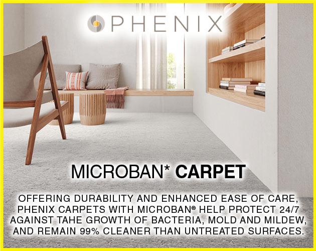Phenix Microban Carpet on sale