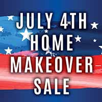 Home Makeover Sale through July 2nd at Neve's in Antigo!
