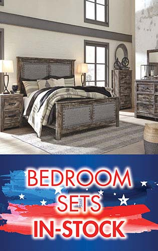 Save on in-stock bedroom sets during our July 4th Blowout Sale at Neve's in Antigo