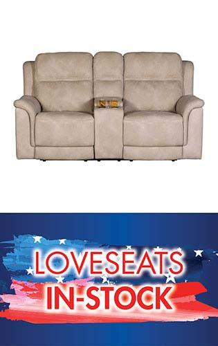 Save on in-stock loveseats during our July 4th Blowout Sale at Neve's in Antigo
