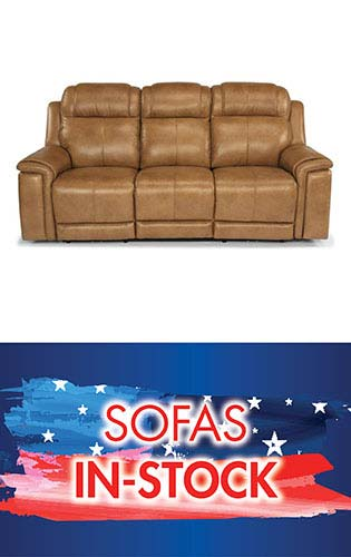 Save on in-stock sofas during our July 4th Blowout Sale at Neve's in Antigo